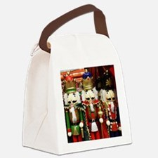 Nutcracker Soldiers Canvas Lunch Bag