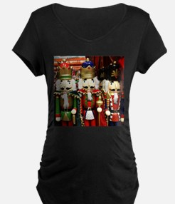 Nutcracker Soldiers Maternity T-Shirt