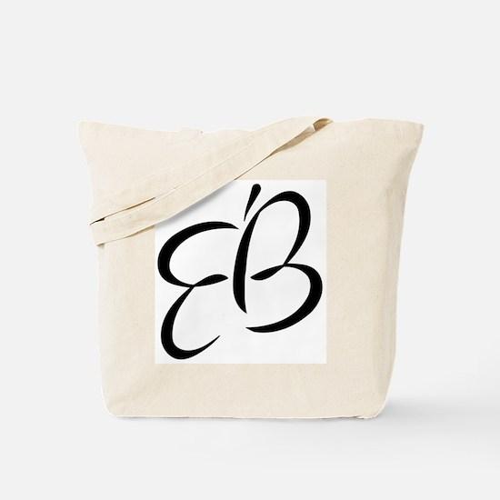 Eb Vertical Tote Bag