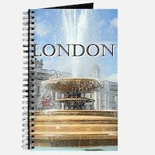Fountain, Trafalgar Square, London (captio Journal
