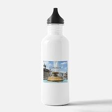 Fountain, Trafalgar Sq Water Bottle