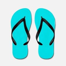 JUST COLORS: TURQUOISE Flip Flops