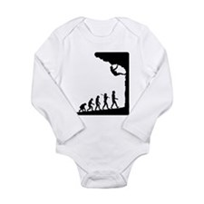 Cool Roping Long Sleeve Infant Bodysuit