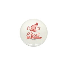 Fred for President Mini Button (100 pack)