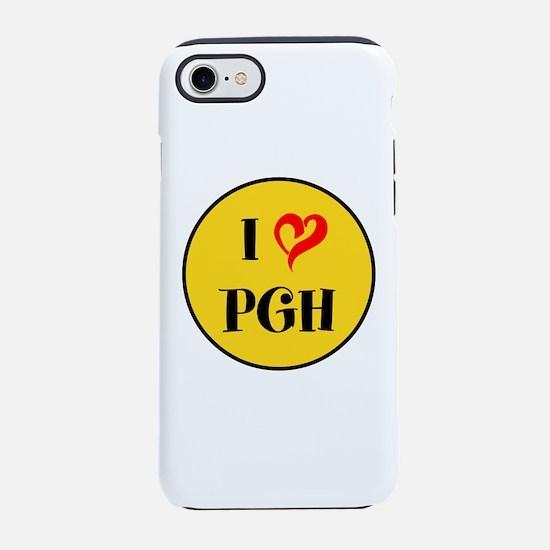 I love Pittsburgh iPhone 8/7 Tough Case