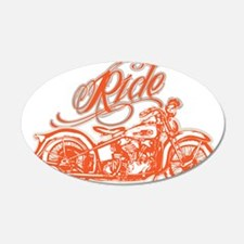 RIDE THE KNUCKLE Wall Decal