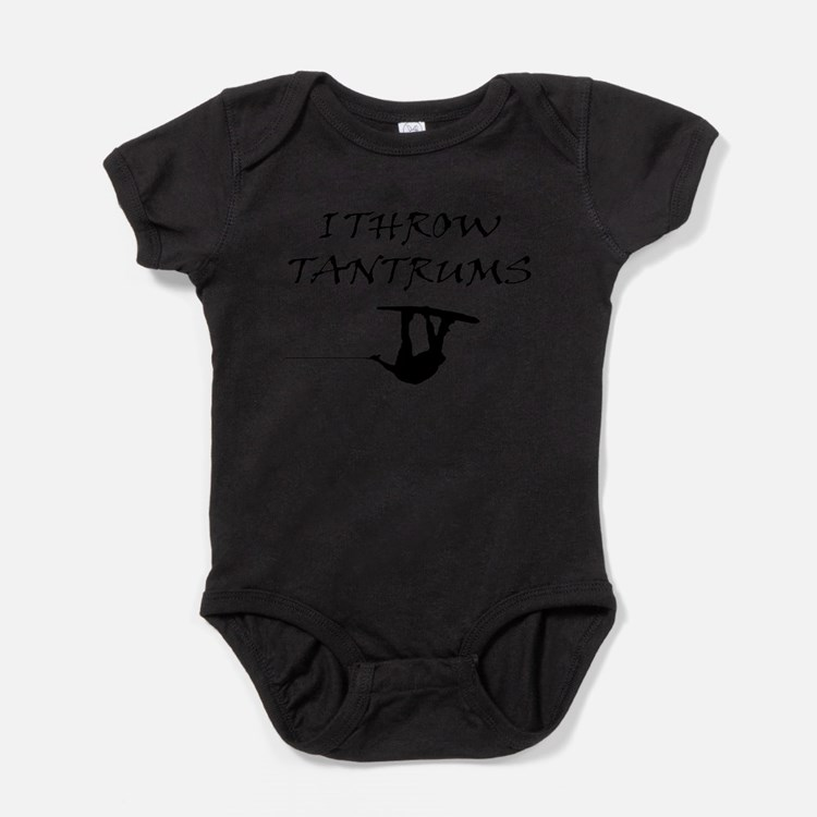 Cute Waterski Baby Bodysuit
