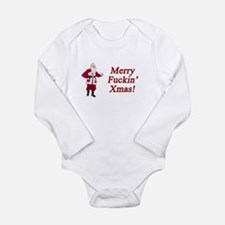 Funny Holiday ideas Long Sleeve Infant Bodysuit