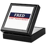 Fred Thompson for President Keepsake Box