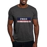 Fred Thompson for President Dark T-Shirt