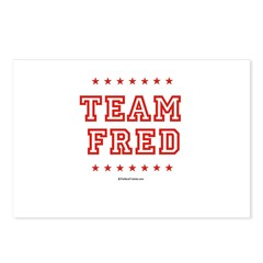 Team Fred Postcards (Package of 8)