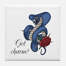 Got Charm? Tile Coaster