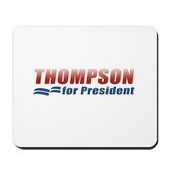 Thompson for President Mousepad