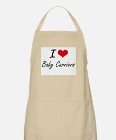 I Love Baby Carriers Artistic Design Apron