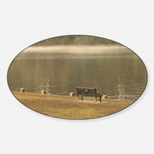 Foggy St. Croix River Bank Decal