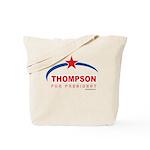 Thompson for President Tote Bag