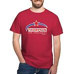 Thompson for President Dark T-Shirt