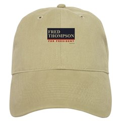 Fred Thompson for President Baseball Cap
