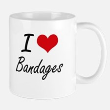 I Love Bandages Artistic Design Mugs