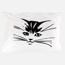 Cat Face Pillow Case