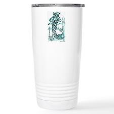 Unique Merman Travel Mug