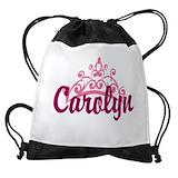 Personalized name princess Drawstring Bag