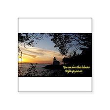 Sunset Lighthouse Sticker
