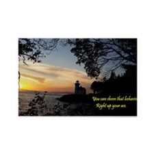 Sunset Lighthouse Magnets