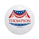 Fred Thompson Ornament (Round)
