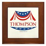 Fred Thompson Framed Tile
