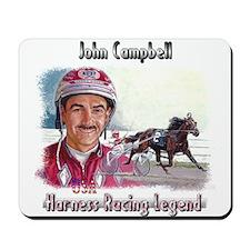 """NEW - John Campbell""  Mousepad"