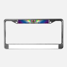 Butterflies and Beetles License Plate Frame