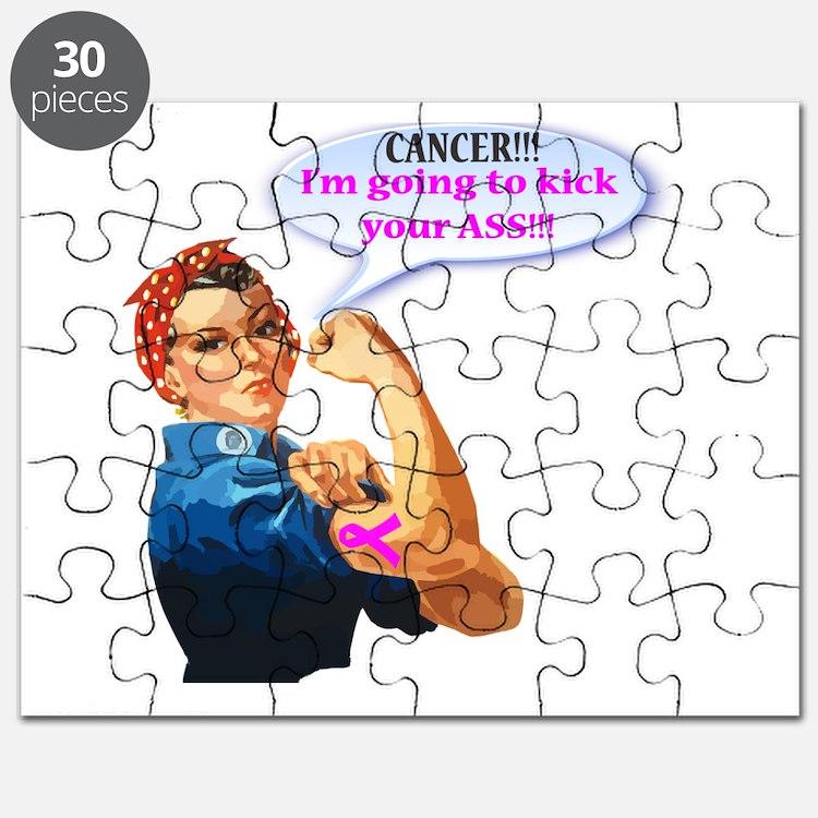 Rosie Fighting Cancer Design Puzzle