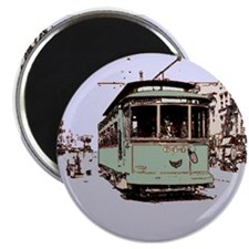 "Old Streetcar 2.25"" Magnet (10 pack)"