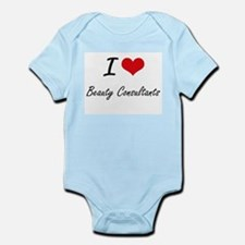 I Love Beauty Consultants Artistic Desig Body Suit