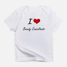 I Love Beauty Consultants Artistic Infant T-Shirt