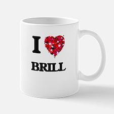I Love Brill food design Mugs