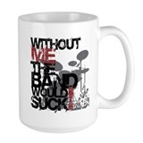 Drummer Large Mugs (15 oz)