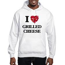 I Love Grilled Cheese food desig Hoodie