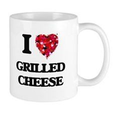 I Love Grilled Cheese food design Mugs