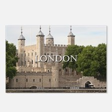 Tower of London, England  Postcards (Package of 8)