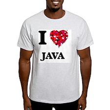 I Love Java food design T-Shirt