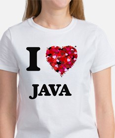I Love Java food design T-Shirt