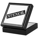 Stencil - Stencil Art Keepsake Box