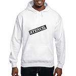 Stencil - Stencil Art Hooded Sweatshirt