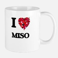 I Love Miso food design Mugs