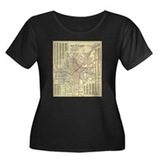 Los Angeles Old Map T