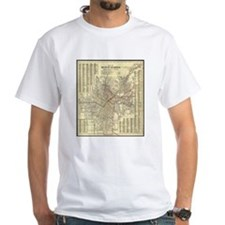 Los Angeles Old Map Shirt