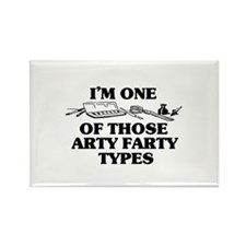 I'm One of Those Arty Farty T Rectangle Magnet (10