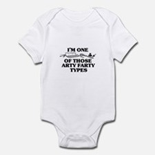 I'm One of Those Arty Farty T Infant Bodysuit